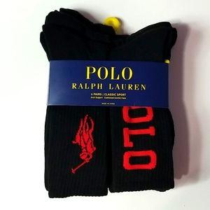 Polo Ralph Lauren Big Pony Socks Size 10-13